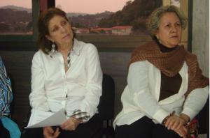 Myriam Diaz y Rosa paredes