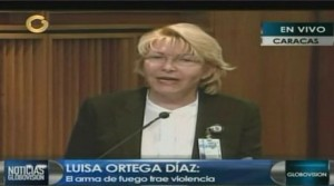 Luisa Ortega Díaz, fiscal general de la República | Foto: Captura